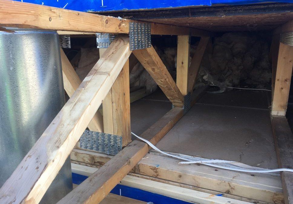 Chimney Enclosure Repairs