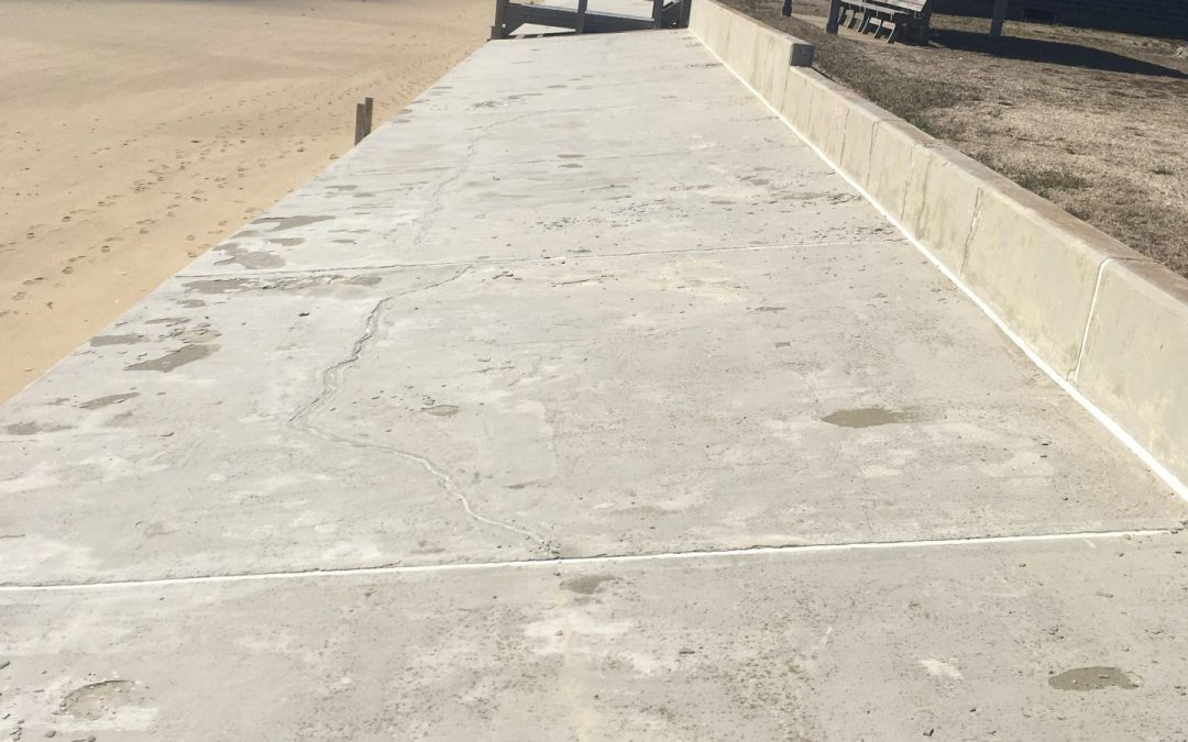 Concrete Sea Wall Evaluation for Repairs